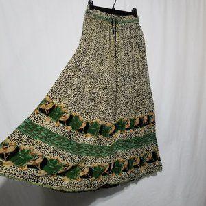 Vintage Wardrobe Essentials cheetah print skirt